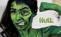 She Hulk/ Hulk Makeup Tutorial Nyx face awards