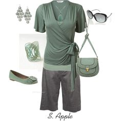 Sage, created by sapple324 on Polyvore