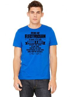 being an electrician copy Tshirt