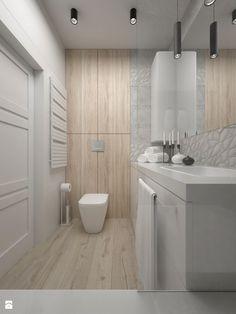 Mieszkanie - 60 m2 - Mała łazienka w bloku bez okna, styl minimalistyczny - zdjęcie od BIG IDEA studio projektowe