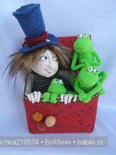 Здравствуйте, Бэйбики! А это снова я и снова порция прикольных куколок. На этот раз меня очаровали работы Джилл Маас (Jill