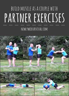Workout with your spouse! Build muscle as a couple with partner exercises #PowerInProtein #CollectiveBias #ad @walmart