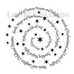 Lavinia Stamps - Spiral of spells €11.20