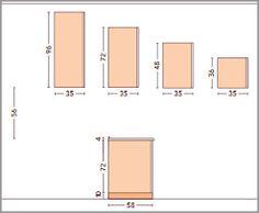 Risultati immagini per altezza pensili | layout interni e dimensione ...