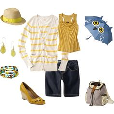 Target - Yellow with Owls, created by hrc2a