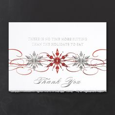 2015 Holiday Cards - Sparkling Snowflakes -  Occasions In Print, LLC | SCOTTSDALE, AZ