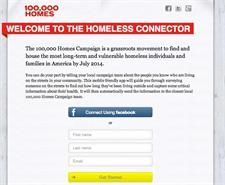 HomelessConnector is a simple, concrete way that you can help end homelessness for neighbors in your community... It's all part of an effort to make sure that every homeless person in America is known by name to the people most able to help them.