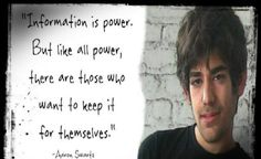 """Aaron Swartz vs The Deep """"Security"""" State: The War on YOUR Public Knowledge"""