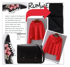 """""""ROMWE"""" by amilasahbazovic ❤ liked on Polyvore featuring Vans"""
