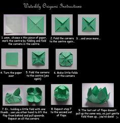 Le Panda-Chan: Vamos Fazer Origami! - Flor de Lotus