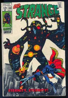 marvel silver age comic covers | Comics Covers / DR. STRANGE 180, SILVER AGE MARVEL COMICS