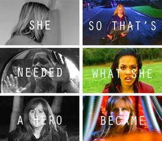 she needed a hero so that's what she became #doctorwho