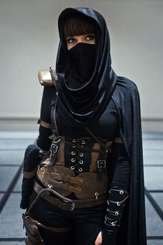 Image of the best (hyper realistic) cosplays i've ever seenImage Plus Size steel boned leather corset Renn SCA LARP Wiccan Cosplay Pirate Goth Steampunk on Etsy, Halloween Outfits, Halloween Kostüm, Steampunk Halloween Costumes, Halloween Makeup, Style Steampunk, Steampunk Fashion, Gothic Steampunk, Gothic Fashion, Steampunk Clothing
