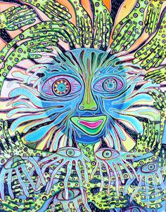 Intuitive Painting by Lynn Newman