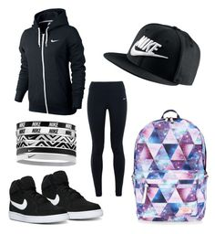 """""""Untitled #100"""" by crystalgem11 on Polyvore featuring Accessorize and NIKE"""