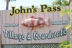 John's Pass, Treasure Island, Florida