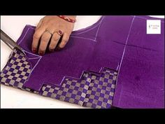 Blouse back Neck design cutting and stitching / Blouse design, मॉडल ब… - Mvagustacheshire Shagun Blouse Designs, Saree Blouse Neck Designs, Sari Blouse Designs, Blouse Patterns, Diy Bag Designs, Chudidhar Neck Designs, Sewing Dresses For Women, Hand Work Blouse Design, Youtube