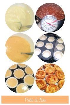 Portugese Egg Custard Tarts (Pasteis de Nada) 葡撻 Portuguese Egg Tart, Table Flower Arrangements, Custard Tart, Custard Recipes, Custom Cakes, Dessert Table, Finger Foods, Baked Goods, Food Photography