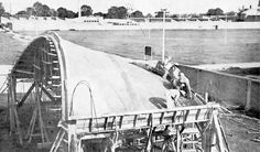 Conoide experimental en San Bartolo, Naucalpan, Estado de México, México 1950    Arq. Félix Candela -    Conoid experiment,San Bartolo, Naucalpan, State of Mexico, Mexico 1950