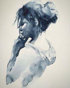 Florent Leclercq @fuzzz_yy.art #watercolor painting