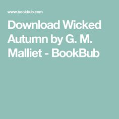 10 best cozy mysteries set in connecticut images on pinterest great deals on wicked autumn by g limited time free and discounted ebook deals for wicked autumn and other great books fandeluxe Image collections