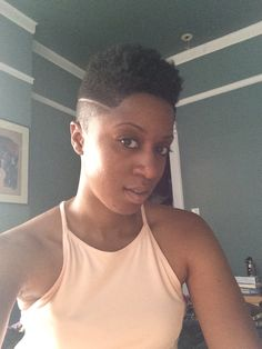 I love this tapered cut! Tapered Natural Hair Cut, Natural Hair Short Cuts, Short Hair Cuts, Natural Hair Styles, Tapered Afro, Natural Hair Haircuts, Twa Hairstyles, Hairdos, Natural Hair Inspiration