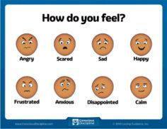 How Do You Feel Chart #iheartcd You must be able to name it in order to tame it! Help children identify the emotion they are feeling with this handy chart. Images were custom-designed based on Dr. Bailey's extensive research about facial expressions and emotional recognition.