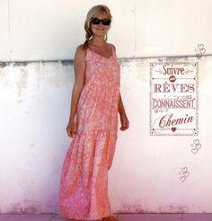 Miss transformé en maxi robe de Aime comme Marie + Tuto