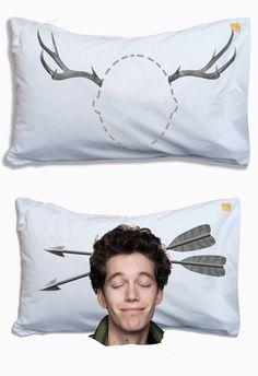 Head Case pillow cases... Haha!