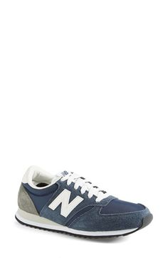 Free shipping and returns on New Balance '420' Sneaker (Women) at Nordstrom.com. A retro sneaker makes a comeback with soft, flexible styling in a trend-right blend of suede and fabric. <br><br>For over a century, New Balance has dedicated itself to producing premium footwear to aid athletes in their pursuit of excellence—seamlessly blending function and fashion to give you the performance technology you need and the style you want.