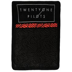 Twenty One Pilots Wave Throw Hot Topic ($20) ❤ liked on Polyvore featuring home, bed & bath, bedding, blankets, polyester throw and polyester blanket