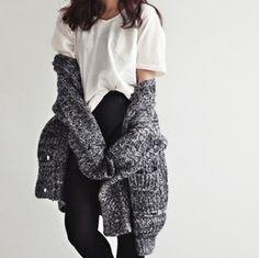 Big cuddly sweater