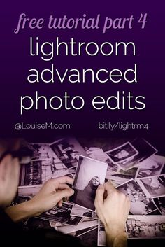 In this free Adobe Lightroom training, you'll learn advanced photo editing techniques. Blemish and red-eye removal, graduated and radial filters, and more. FREE training! Click to blog for the entire 6-part tutorial.