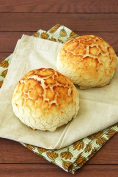 Dutch Crunch Rolls aka Tiger Bread from Confessions of a Bright-Eyed Baker