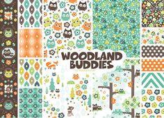 Woodland BuddiesbyValerie Foster