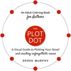 The Plot Dot. A visual guide to plotting your novel and creating unforgettable scenes. #amwriting