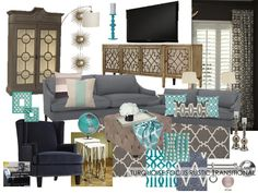 These Are All Of My Base Neutral Colors I Am Liking Turquoise To Make Navy Living RoomsLiving Room