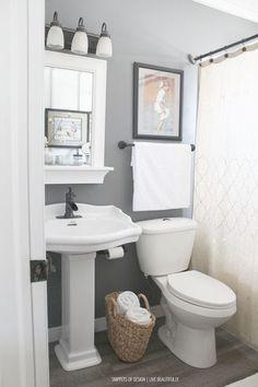 Fantastic -> Bathroom Ideas Grey Floor #repin