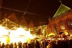 Altstadt Bremen leuchtet in der Vorweihnachtszeit