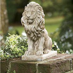 Lion Statue from Midnight Velvet®