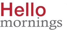HelloMornings- creating a morning routine to start your day with God
