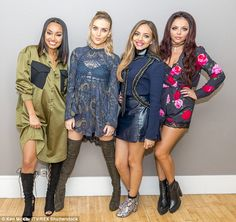 Popular: Little Mix, who emerged victorious on The X Factor in 2011, have seen their popul...