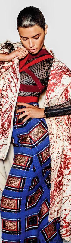 ♛ e d i t o r i a l  e t i q u e t t e   {magazine photography} ♛  Adriana Lima - Vogue Mexico - July 2015