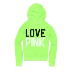 Victoria's Secret Beach Terry Zip Hoodie ($43) ❤ liked on Polyvore