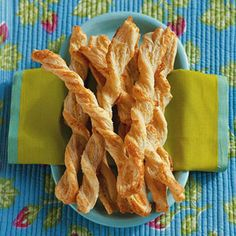 Easy 4 Ingredient Cheese Straws