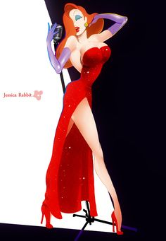 Jessica Rabbit by faddawdle on deviantART