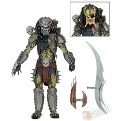 PREDATOR-Maul: A heavy bladed weapon comparable to a police officer's nightstick.