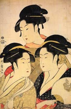 Ukiyo-e - As estampas japonesas foram influências para um processo gradual de simplificação e modernização da imagem no séc. XIX. A arte Nova prolifera a partir destas influências orientais.