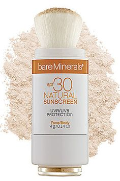 Might have to try this, since normal SPF tends to make my face break out like crazy!