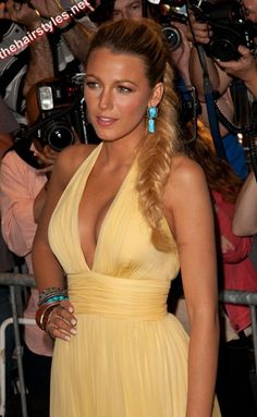 Blake Lively Prom Updos Hair Model « Hairstyles – Celebrity Hair Styles & Haircuts - Thehairstyles.Net